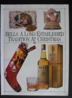 BELLS SCOTCH WHISKY  ORIGINAL 1986 MAGAZINE ADVERT - Advertising