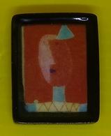 Fève   - Grand Peintre 2013 -  Tableau De Paul Klee  - Poisson  - Art Tableau Peinture - Fèves