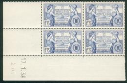 Lot 498 France Coin Daté N° 357 Du 17/1/1938 (**) - Coins Datés