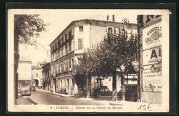 CPA Loriol, Hotel De La Croix De Malte - Zonder Classificatie