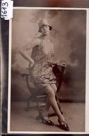 1613  CARTE PHOTO MODE FEMME EN POSE1926 - Moda