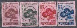 Germany Occupation Of Serbia - Serbien 1941 Mi#54-57 I (spitzen Up) Mint Hinged - Occupation 1938-45