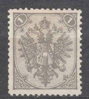 Austria Occupation Of Bosnia 1879 Mi#1 II Mint Hinged - 1850-1918 Imperio