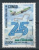 °°° REPUBBLICA DEL CONGO - Y&T N°357 PA - 1986 °°° - Congo - Brazzaville
