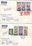 UdSSR 1977 - MiNr: 4648-4653+3989+4638 Komplett - Briefe U. Dokumente
