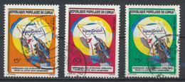 °°° REPUBBLICA DEL CONGO - Y&T N°823/25 - 1988 °°° - Congo - Brazzaville