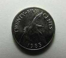 Bermuda 25 Cents 1983 - Bermuda