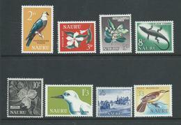Nauru 1963 Definitive Set Of 8 MNH - Nauru