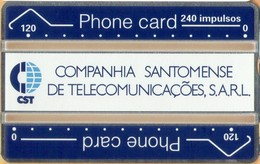 Sao Tome And Principe - ST-CST-0001, Definitive, L&G, 240U, 112K, 5.000ex, 12/91, Mint / Unused - São Tomé Und Príncipe
