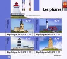 Z08 NIG190125a NIGER 2019 Lighthouses MNH ** Postfrisch - Niger (1960-...)