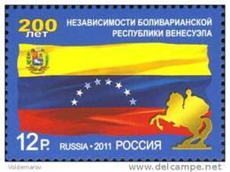 Russia 2011 Mih. 1724 Venezuela MNH ** - 1992-.... Fédération