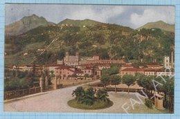 Italy / Post Card / Bergamo. San Pellegrino. Panorama Of The City.  Architecture. 1923 - Bergamo