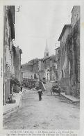 07)   JOYEUSE  -  La Route Vieille Le Grand Jeu Les Vieux Remparts De L'enceinte Du Chateau Des Ducs De Joyeuse - Joyeuse