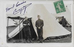 23)  LA COURTINE  -  Carte Photo Militaire - La Courtine
