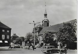 AK 0213  Bad Lausick - Markt / Ostalgie , DDR Um 1968 - Bad Lausick