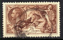 GB 1934 KGV 2/-6d Chocolate Brown Seahorse SG 450 ( B777 ) - Gebraucht