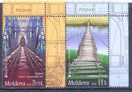 2018. Moldova, Europa 2018, Set,  Mint/** - Moldavie