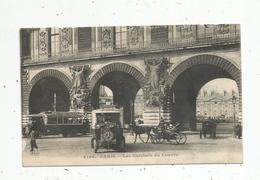 Cp, Bus & Autocars , Automobiles ,attelage ,MERCEDES , 75,PARIS ,les Guichets Du  LOUVRE ,  écrite - Autobús & Autocar