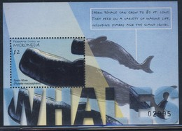 MICRONESIE 2001  BLOC  MAMMIFERES MARINS  YVERT  N°B83 NEUF MNH** - Baleines