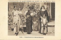 Missions, Congrégation De Saint-Joseph De Cluny - Inde: Orphelines De La Sainte-Enfance - Missionen