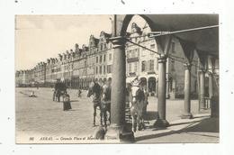Cp, 62 , ARRAS ,  Attelage ,  Chevaux ,grande Place Et Marché Aux Grains,vierge ,n° 96, Ed. LL - Arras