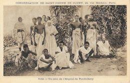 Missions, Congrégation De Saint-Joseph De Cluny - Inde: Un Coin De L'Hôpital De Pondichéry - Missionen
