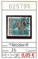 Tansania - Tanzania - Michel 22 - Oo Oblit. Used Gebruikt - Gem. Scan - As Per Scan - Tansania (1964-...)