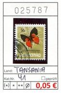 Tansania - Tanzania - Michel 41 - Oo Oblit. Used Gebruikt - Gem. Scan - As Per Scan - Tansania (1964-...)