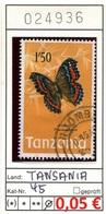 Tansania - Tanzania - Michel 45 - Oo Oblit. Used Gebruikt - Gem. Scan - As Per Scan - Tanzania (1964-...)