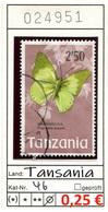 Tansania - Tanzania - Michel 46 - Oo Oblit. Used Gebruikt - Gem. Scan - As Per Scan - Tansania (1964-...)