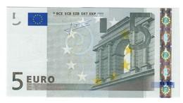 5 € Malta Trichet F E009C2 Q.FDS About UNC DA MAZZETTA  Cod.€.230 - EURO