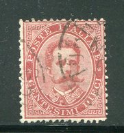ITALIE- Y&T N°34- Oblitéré - 1878-00 Humbert I