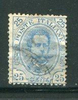 ITALIE- Y&T N°61- Oblitéré - 1878-00 Humbert I