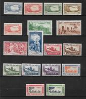 PA Du Dahomey De 1940/42 Pays Complet  N°1 A 17  Neufs * - Dahomey (1899-1944)