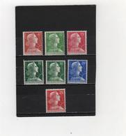 FRANCE     1955-59  Y.T. N° 1009A  à  1011C  NEUF** - 1955- Marianna Di Muller
