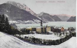 AK 0214  Gmunden - Winterbild / Verlag Brandt Um 1909 - Gmunden