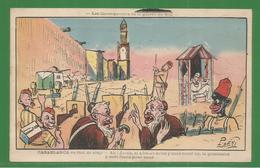 Judaisme - Les Conséquencesde La Guerre Du Ritf - 2 Juifs Dans Une Tranchée - Juif - Illustrateur Neri - Judaisme