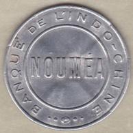 Nouvelle Calédonie 1922 Timbre-monnaie 50 Centimes  Nouméa Banque De L'Indochine - Nuova Caledonia
