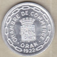 Algérie, Chambre De Commerce D'Oran , 25 Centimes 1922 , Aluminium. SUP/XF ++ - Algérie