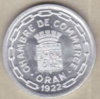 Algérie, Chambre De Commerce D'Oran , 25 Centimes 1922 , Aluminium. SUP/XF ++ - Algeria