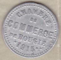 Algérie, Chambre De Commerce De Bougie, 5 Centimes 1915 , Aluminium. - Algérie
