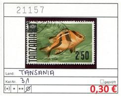 Tansania - Tanzania - 10 Diff. As Per Scans - Oo Oblit. Used Gebruikt - - Tansania (1964-...)