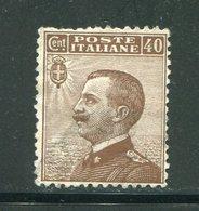 ITALIE- Y&T N°80- Neuf Sans Gomme - Mint/hinged