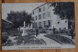 78 : St-Germain - Ecole St Augustin - Après La Leçon De Gymnastique - Animée : Petite Animation - (n°14917) - St. Germain En Laye