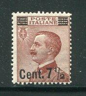 ITALIE- Y&T N°128- Neuf Avec Charnière * - Mint/hinged