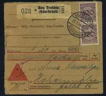 Paketkarte 1934 NEU TREBBIN Siehe Beschreibung (114955) - Deutschland