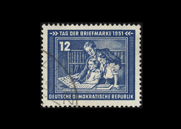 DDR 1951, Michel-Nr. 295, Tag Der Briefmarke, 12 Pf., Gestempelt - DDR