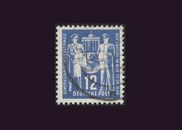 DDR 1949, Michel-Nr. 243, Gründungskongreß Der Internationalen Gewerkschaftsvereinigung Für Die Post, Gestempelt - DDR