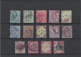 Gran Bretagna ,usati ( Il 117x2+106a) ,splendidi - 1902-1951 (Re)