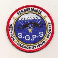 GENDARMERIE SECTION PARACHUTISME SPORTIF - Patches